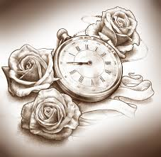 image result for clock tattoo drawing wishful thinking