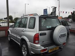 used suzuki grand vitara 2 5 for sale motors co uk