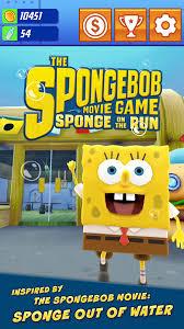 amazon com spongebob sponge on the run appstore for android
