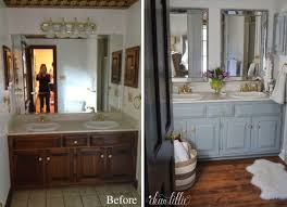 Before After Bathroom Makeovers - dear lillie our inexpensive mini makeover on our master bathroom