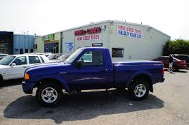 2004 ford ranger edge blue 4x2 sport used truck sale