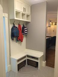 Building A Mudroom Bench Corner Bench Mudroom Built In Small Mudroom Home Sweet Home