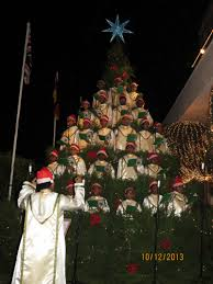 a singing christmas tree highlights the season in sri lanka