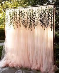 Ideas For Backyard Wedding Reception by Best 25 Outdoor Wedding Backdrops Ideas On Pinterest Wedding