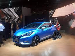 nissan micra japanese import nissan micra at the 2016 paris motor show