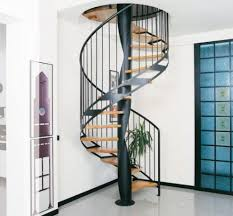Fabulous Nuance Architecture Modern Homes Using Stainless Kit Spiral Staircase