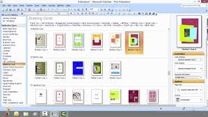 How To Create A Invitation Card How To Create A Greeting Card With Microsoft Publisher Youtube