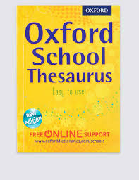 Thesaurus Beautiful by University Of Oxford Thesaurus Book M U0026s