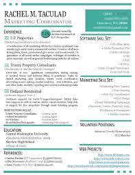 Best Marketing Resume Samples by Oceanfronthomesforsaleus Marvelous Advertising Account Manager