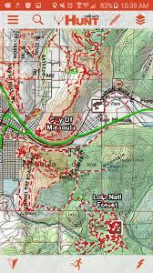 Gmu Map Colorado by Gear Review Onxmaps Hunting Fit