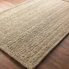 Striped Jute Rug Chunky Boucle Braided Jute Rug Shades Of Light