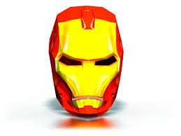 iron man mask homemade printable paper mask templates for party