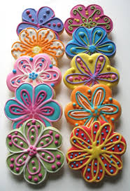 Halloween Sugar Cookies Decorating Idea by Best 25 Flower Sugar Cookies Ideas On Pinterest Flower Cookies