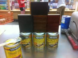 want faux wood grain use polyshades over stain the home depot