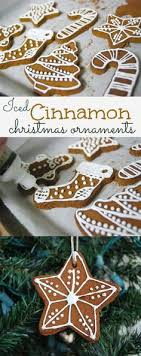 gingerbread non edible cinnamon ornaments pinteres