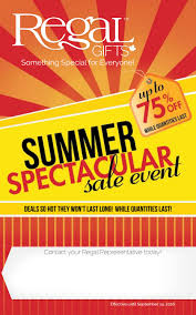 regal gifts summer spectacular 2016 by regal home u0026 gifts inc