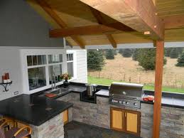 Outside Kitchens Designs Outdoor Kitchen Designs With Roofs Outdoor Kitchens Bellingham