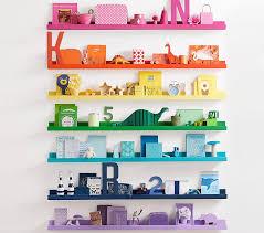 decorative wall shelves for kids u0026 babies pottery barn kids