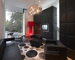 l shaped modern black leather couch bedrooms and living room