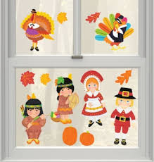 decorating thanksgiving window decorations photo gallery of