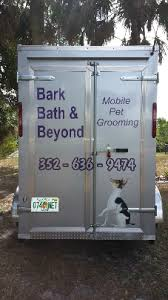 bed bath and beyond leesburg bark bath beyond mobile pet grooming llc 34788 yp com