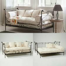 Wrought Iron Daybed Collection In Wrought Iron Daybed With Best 10 Metal Daybed With