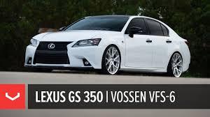 lexus gs 350 hybrid lexus gs 350 all new vossen vfs 6 utilizing flow formed