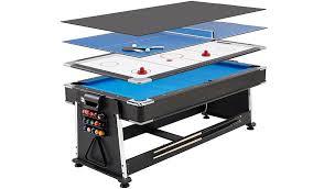 kids air hockey table 3 in 1 pool air hockey table tennis multi game table read reviews