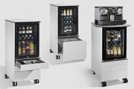 refrigerateur de bureau meuble mobile avec réfrigérateur intégré caisson de bureau