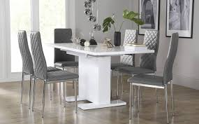 Chairs And Design Ideas 20 Grey Kitchen Table And Chairs Design Dining Table Ideas