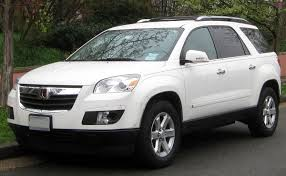 lexus 7 passenger suv price saturn outlook wikipedia