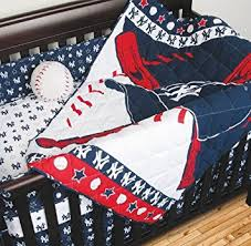 Yankees Crib Bedding 4 Crib Bedding Set Mlb Team Yankees Baby