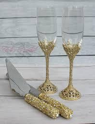 Party Glasses Swarovski Crystal Swarovski Crystal Wedding Toast Set Champagne Glasses
