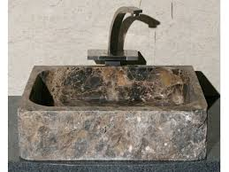rectangular stone vessel sink by allstone artisan crafted home