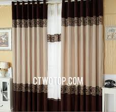 Brown Patterned Curtains And Brown Patterned Modern Discount Designer Curtains
