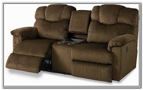 sofa loveseat recliner with cup holders double loveseat recliner