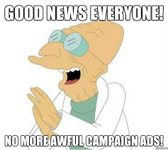 Good News Meme - the best part about election day meme weknowmemes