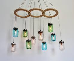 furniture creative diy upcycled hanging glass chandelier lighting