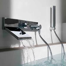 shower mixer tap for bathtubs built in chromed metal pan shower mixer tap for bathtubs built in chromed metal pan zp8046 r99695 by ludovica roberto palomba