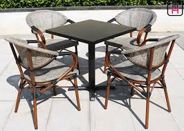 square outdoor dining table backyard patio furniture round square outdoor dining table with