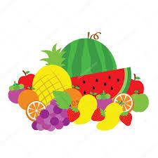 fruit vector cartoon u2014 stock vector tackgalich 34431175