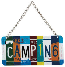 cing license plate tree ornament novelty