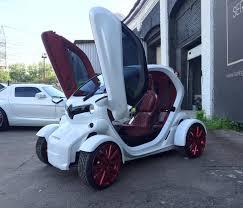 renault twizy blue в украине электромобиль renault twizy превратили в гламурный болид