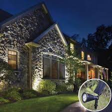 Solar Powered Landscape Lights Premium Solar Powered Landscape Sensor Lights Next Deal Shop