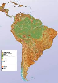 World Map Of Deserts Maps Of South America And South American Countries Political