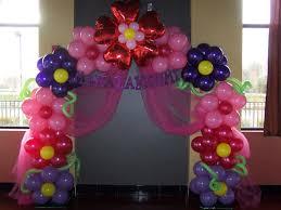 flower arch balloon decoration by makinmemories4u com balloon