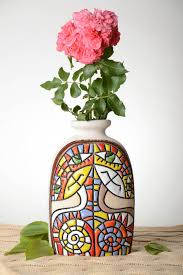 decorative flower madeheart u003e beautiful handmade ceramic vase decorative flower vase