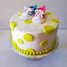 baby converse shoes baby shower cake rose bakes