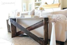 Console Table Sofa Storage Diy Behind Couch Between And Wall Ikea