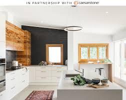 Designing A House Design A Kitchen With Caesarstone U0027s Concrete Quartz Countertops